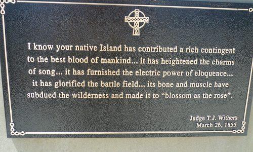 Charleston Irish Memorial