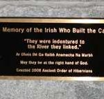 The Columbia SC Irish Memorial